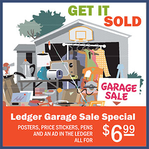 Sanders County Ledger Garage Sale Special